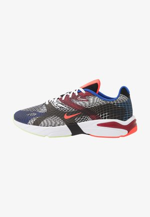 GHOSWIFT - Matalavartiset tennarit - black/white/deep royal blue/bright crimson/team red/racer blue