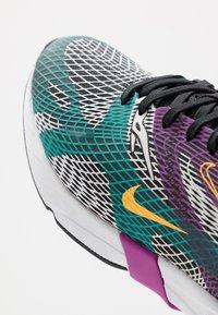 Nike Sportswear - GHOSWIFT - Sneaker low - black/laser orange/hyper jade/vivid purple/pure platinum/white - 6