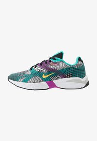 Nike Sportswear - GHOSWIFT - Sneakersy niskie - black/laser orange/hyper jade/vivid purple/pure platinum/white - 0