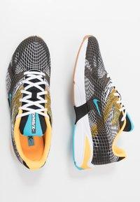 Nike Sportswear - GHOSWIFT - Zapatillas - black/blue fury/laser orange/white/medium brown - 1