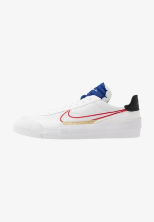 DROP-TYPE HBR - Matalavartiset tennarit - white/university red/deep royal blue/black/team gold