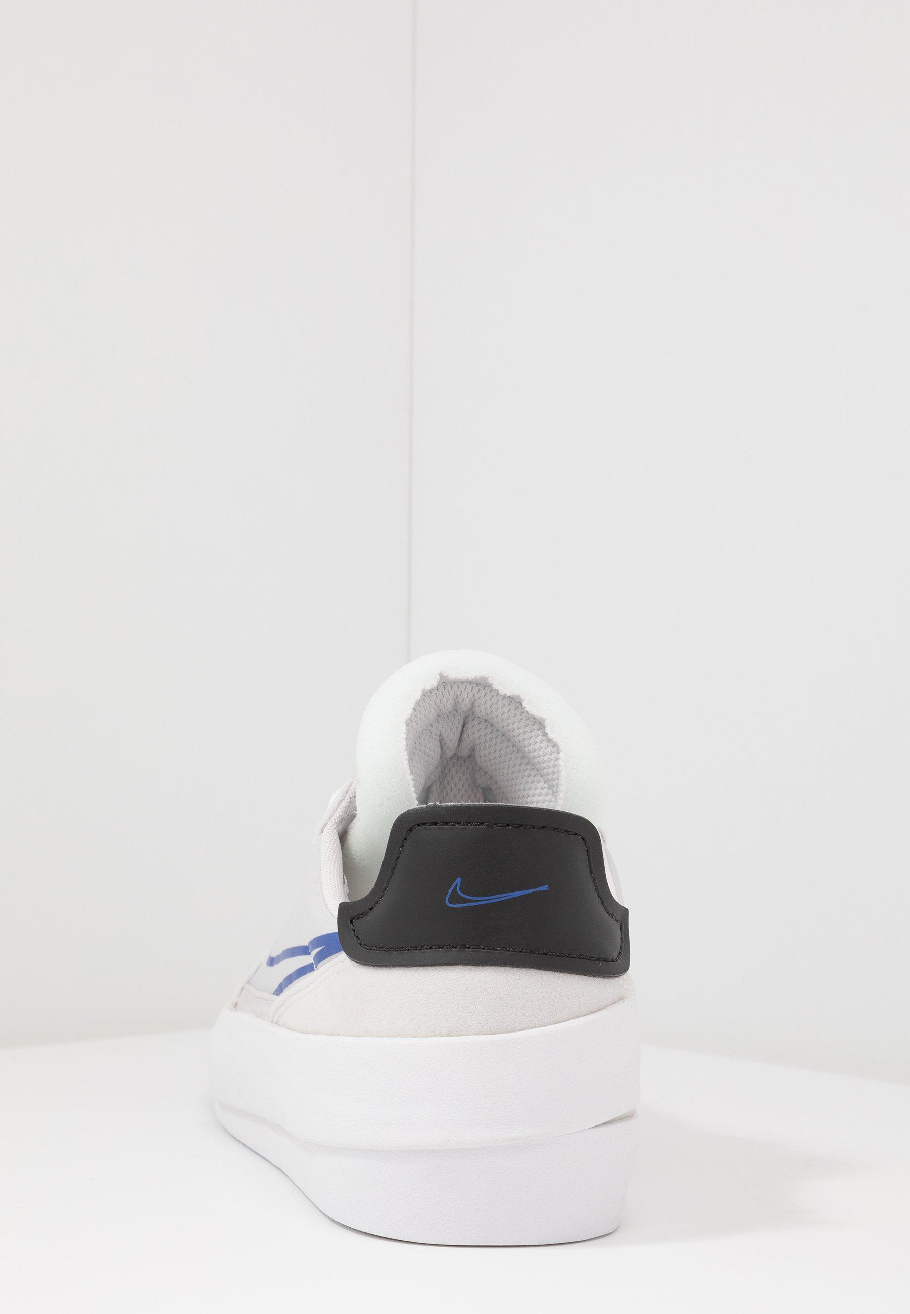 Nike Sportswear DROP-TYPE HBR - Sneakersy niskie - vast grey/hyper blue/black/white