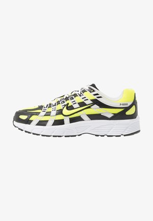 P-6000 - Sneakersy niskie - black/lemon/platinum tint/white