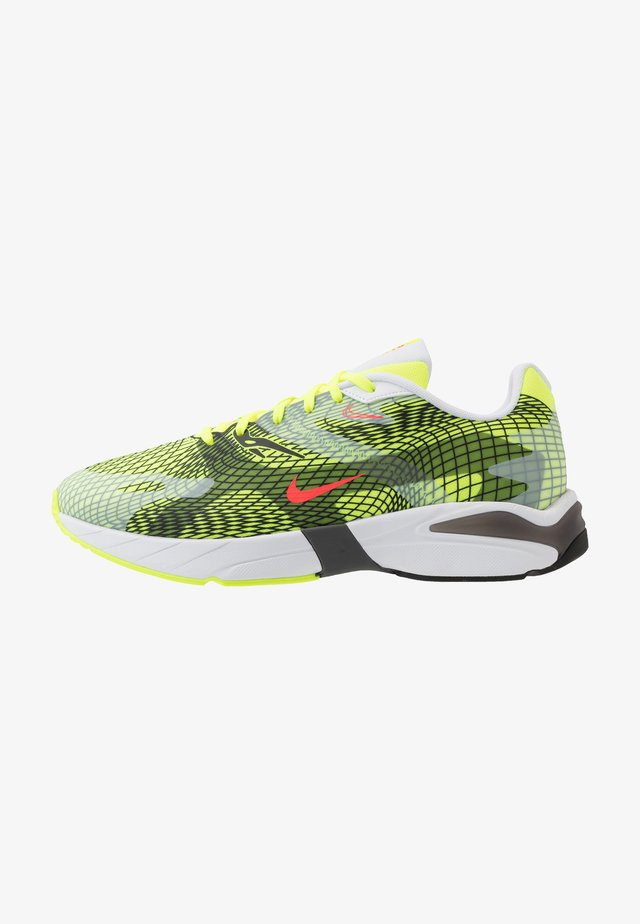 GHOSWIFT - Sneakers - volt/laser crimson/white/iron grey/black
