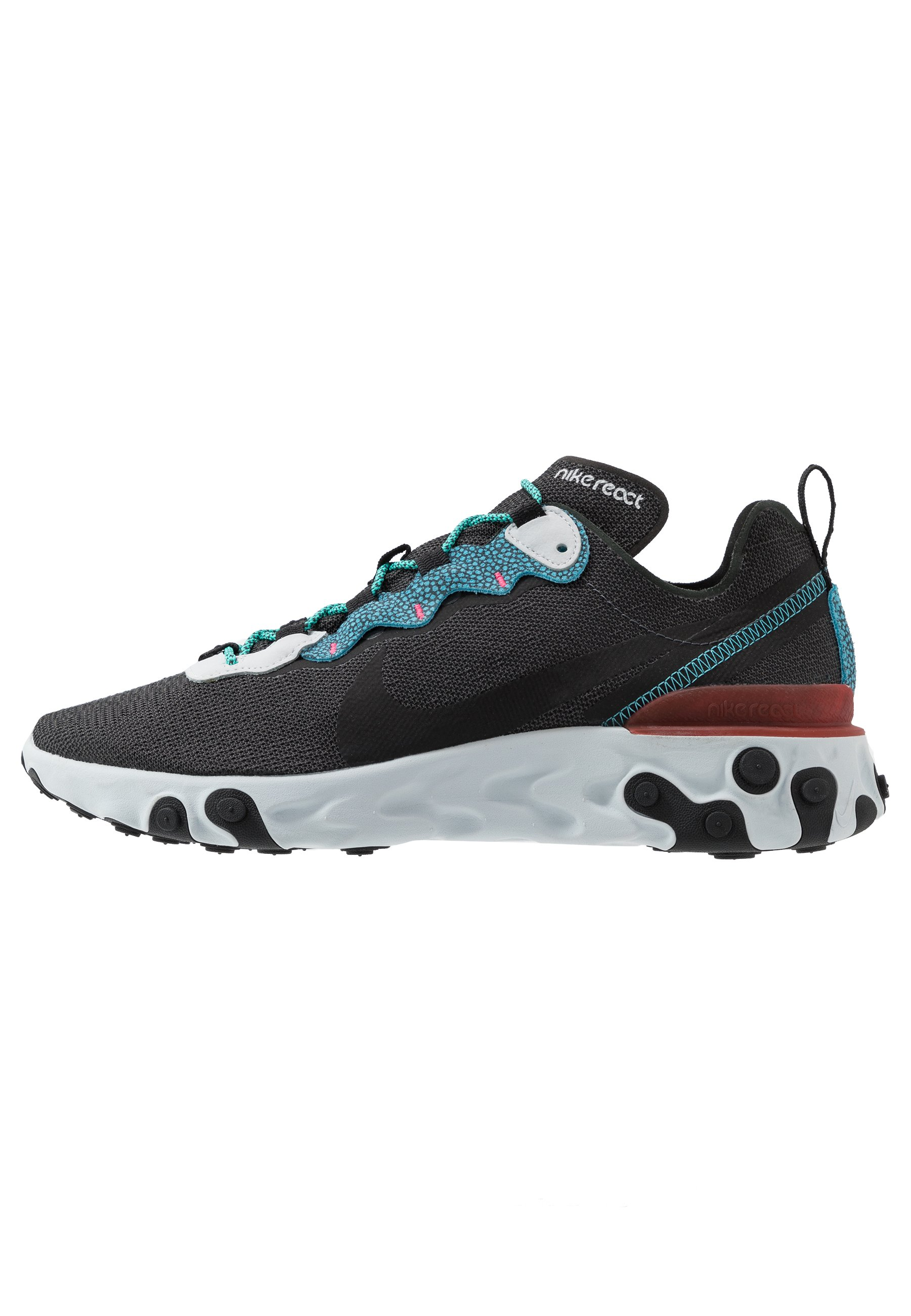 nike REACT ELEMENT 55 SE ANTHRACITEBLUE FURY PURE PLATINUM