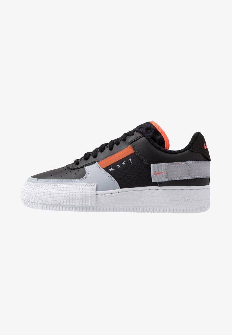 Nike Sportswear - AF1-TYPE SP20 - Baskets basses - black/hyper crimson/wolf grey/white