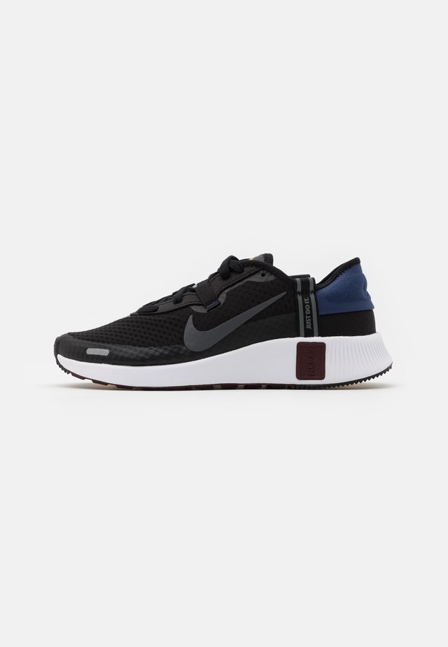 PROJECT UNISEX - Sneakers laag - black/iron grey/blue void/mystic dates/laser orange/white