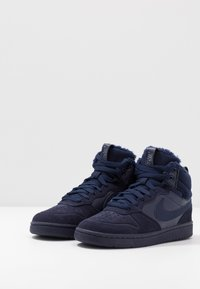Nike Sportswear - COURT BOROUGH MID 2 BOOT WINTERIZED - Sneakers hoog - blue void/blue stardust/coast/topaz mist/photo blue - 3