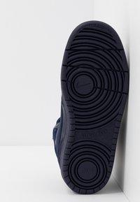 Nike Sportswear - COURT BOROUGH MID 2 BOOT WINTERIZED - Sneakers hoog - blue void/blue stardust/coast/topaz mist/photo blue - 5