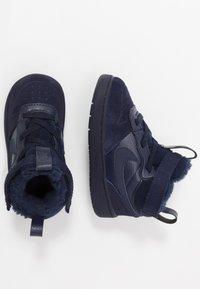 Nike Sportswear - COURT BOROUGH MID WINTERIZED  - Chaussures premiers pas - blue void/blue stardust/coast/topaz mist/photo blue - 0