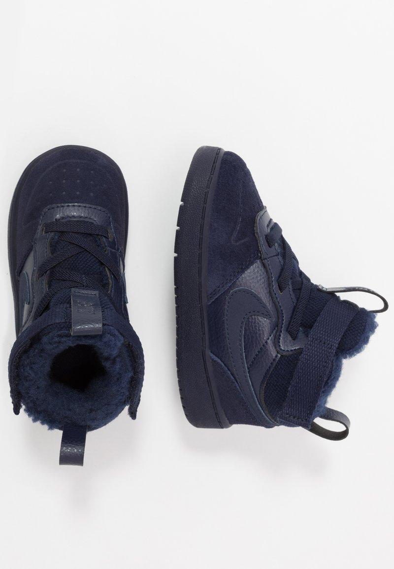Nike Sportswear - COURT BOROUGH MID WINTERIZED  - Babyschoenen - blue void/blue stardust/coast/topaz mist/photo blue
