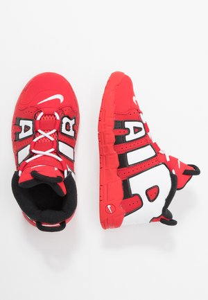 AIR MORE UPTEMPO QS - High-top trainers - red/white