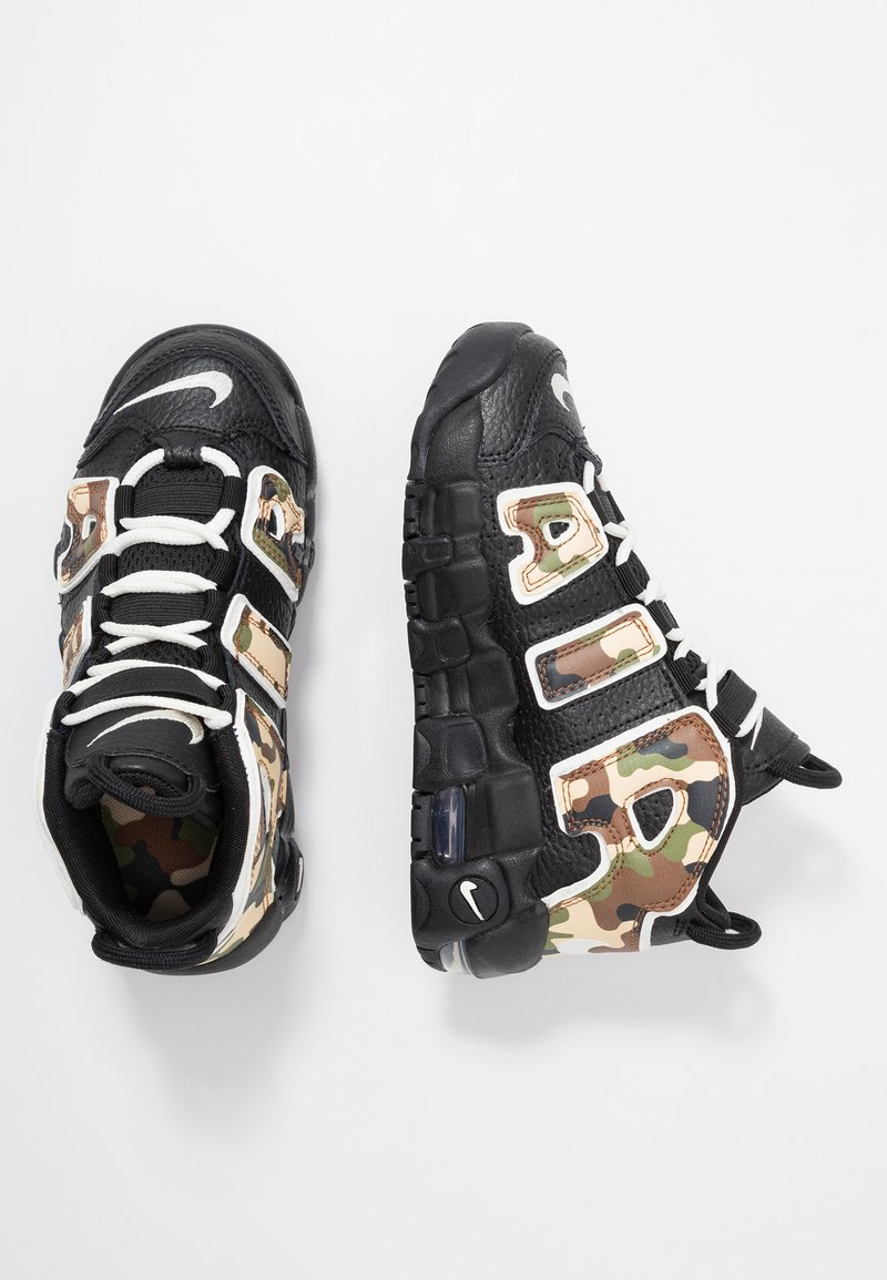 Nike Sportswear - AIR MORE UPTEMPO QS - High-top trainers - black