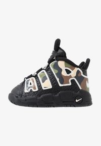 Nike Sportswear - AIR MORE UPTEMPO QS - High-top trainers - black - 1