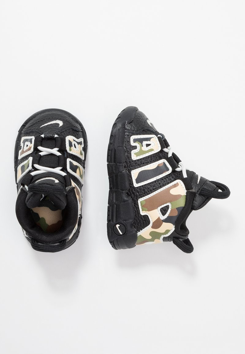Nike Sportswear - AIR MORE UPTEMPO QS - Sneaker high - black
