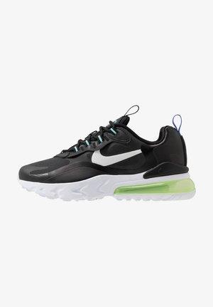 AIR MAX 270 REACT - Sneakers - black/dark smoke grey/laser crimson/voltage purple
