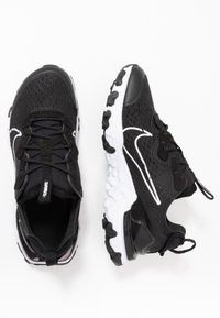 Nike Sportswear - REACT VISION - Baskets basses - black/white - 0