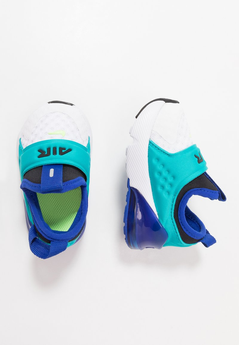 Nike Sportswear - AIR MAX 270 EXTREME - Mocassins - white/ghost green/oracle aqua/hyper blue