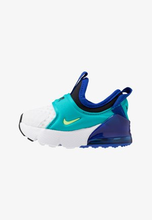 AIR MAX 270 EXTREME - Nazouvací boty - white/ghost green/oracle aqua/hyper blue