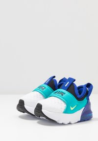 Nike Sportswear - AIR MAX 270 EXTREME - Mocassins - white/ghost green/oracle aqua/hyper blue - 3