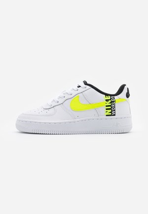 AIR FORCE 1 LV8 UNISEX - Trainers - white/barely volt/volt/black