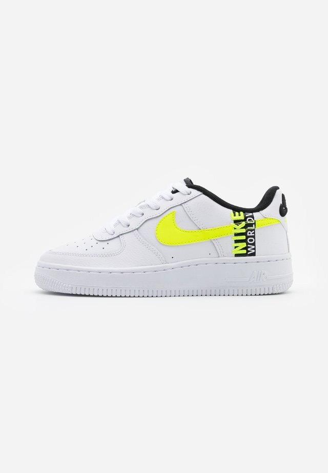 AIR FORCE 1 LV8 UNISEX - Baskets basses - white/barely volt/volt/black