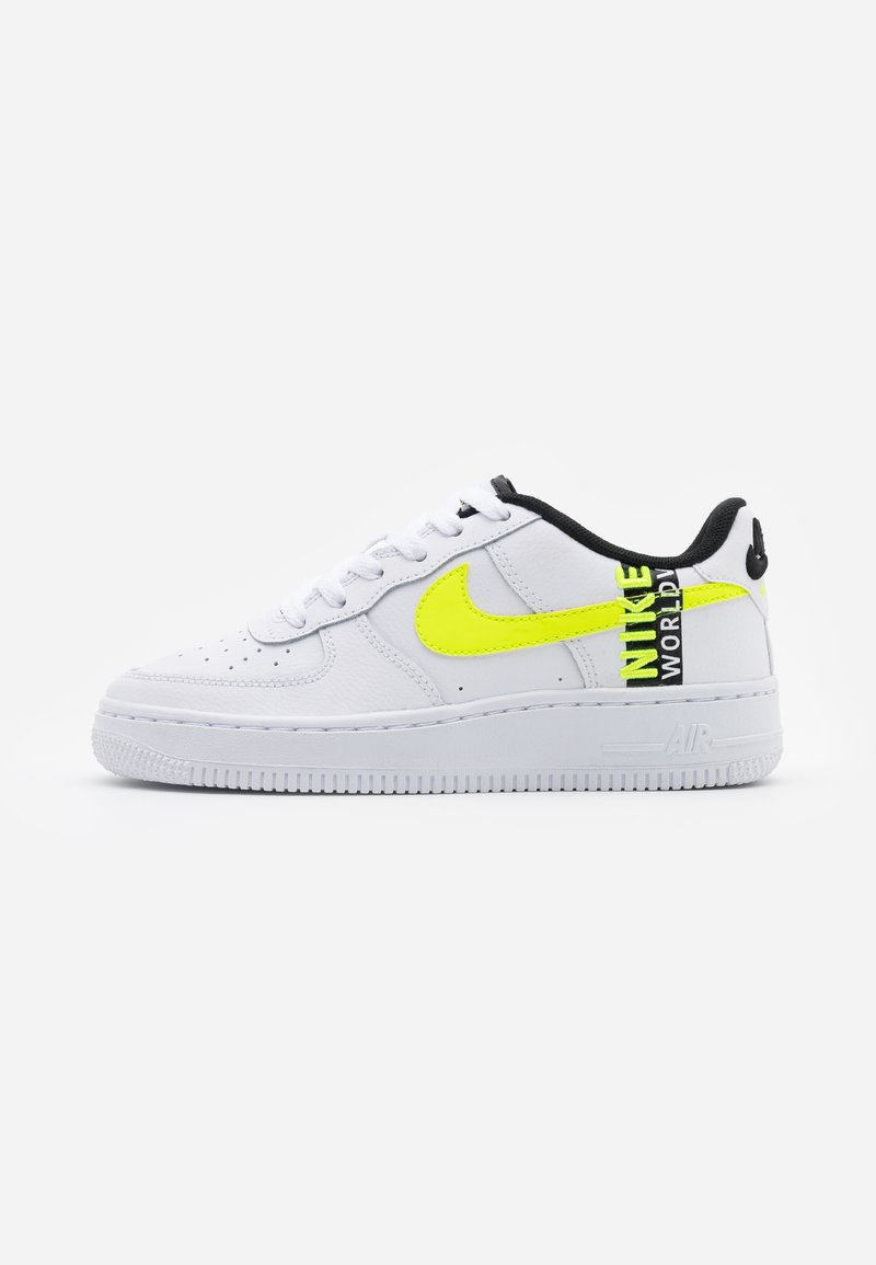 Nike Sportswear - AIR FORCE 1 LV8 UNISEX - Sneakersy niskie - white/barely volt/volt/black