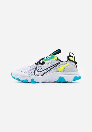 REACT VISION WW - Sneakersy niskie - white/black/volt/blue fury