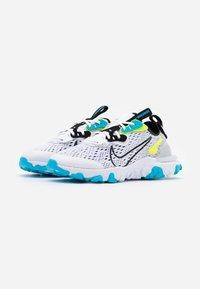 Nike Sportswear - REACT VISION WW - Tenisky - white/black/volt/blue fury - 1