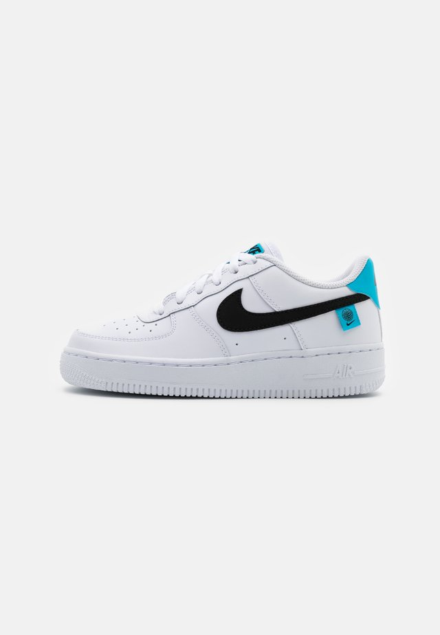 AIR FORCE 1 UNISEX - Sneakers - white/blue fury