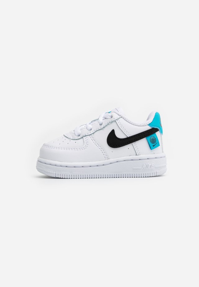 FORCE 1 - Matalavartiset tennarit - white/blue fury