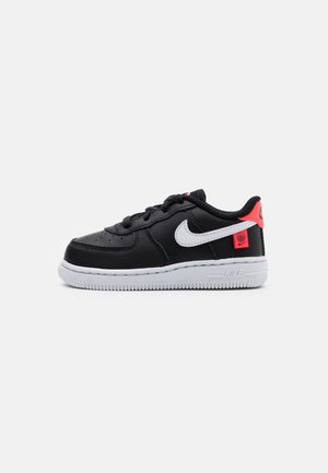 FORCE 1 - Sneakers laag - black/white/flash crimson