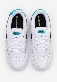 Nike Sportswear - FORCE 1UNISEX - Sneakers laag - white/blue fury - 3