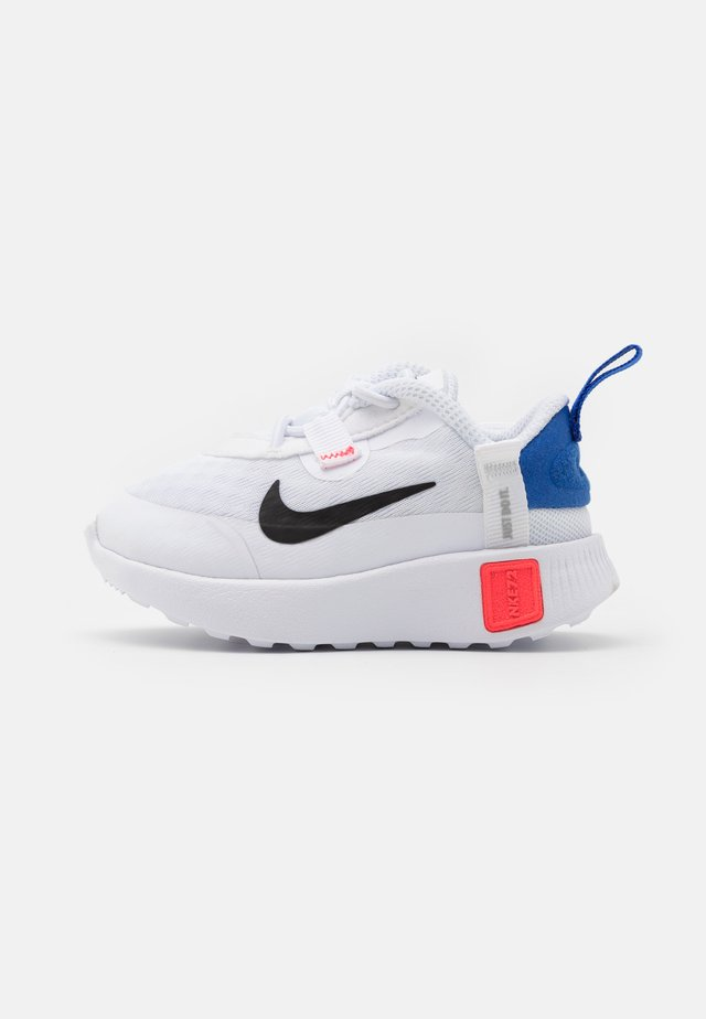 REPOSTO UNISEX - Sneaker low - white/black/flash crimson/game royal