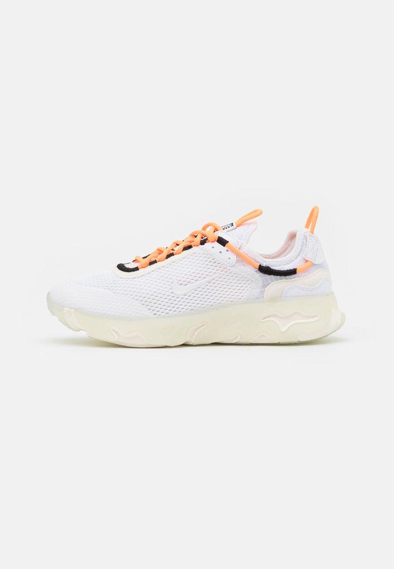 Nike Sportswear - REACT LIVE UNISEX - Matalavartiset tennarit - atomic orange/white/sail/light armory blue