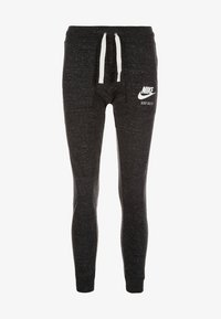 Nike Sportswear - GYM VINTAGE - Jogginghose - black - 0