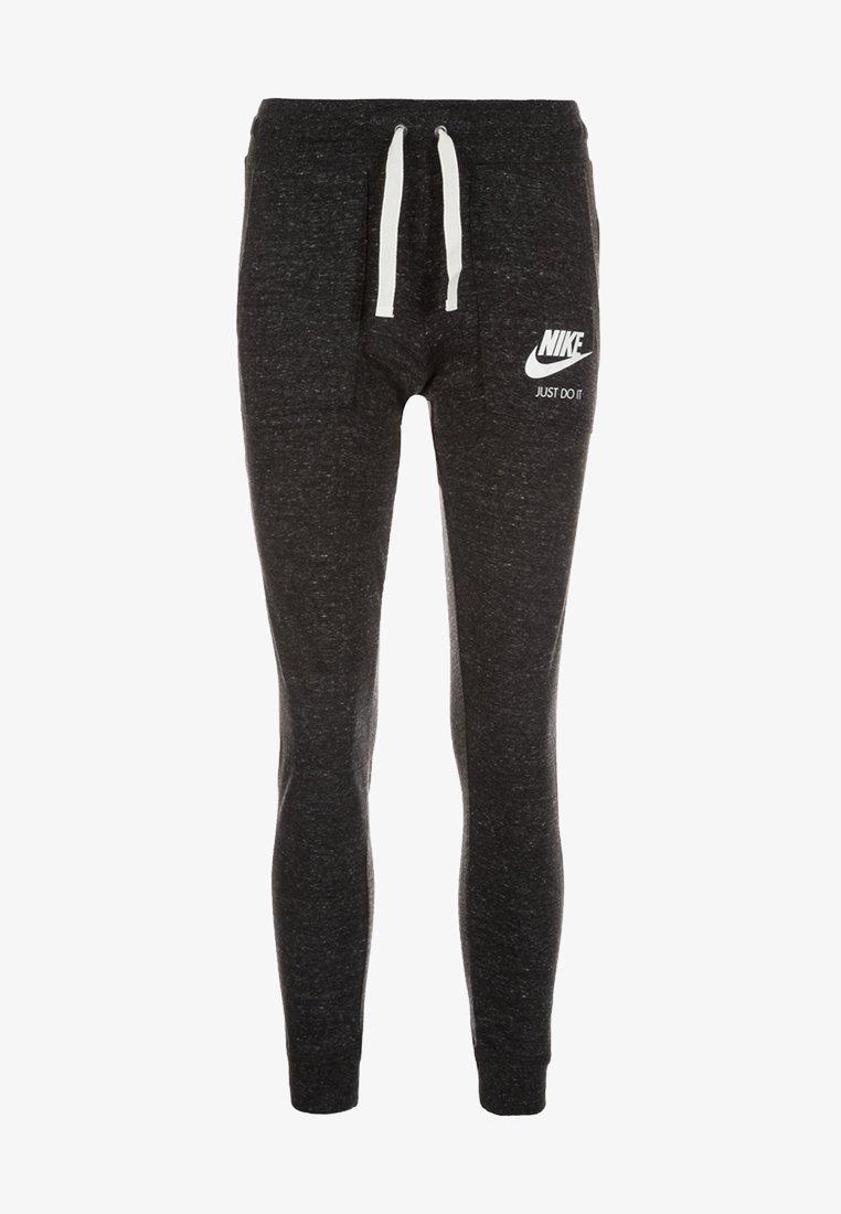 Nike Sportswear - GYM VINTAGE - Tracksuit bottoms - black