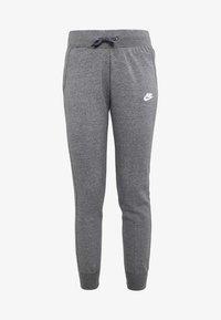 Nike Sportswear - PANT TIGHT - Teplákové kalhoty - charcoal heather/dark grey/white - 4