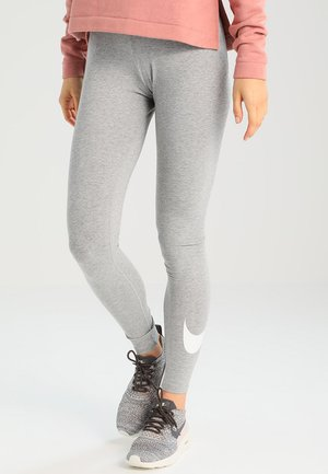 CLUB LOGO - Legging -  grey heather/white