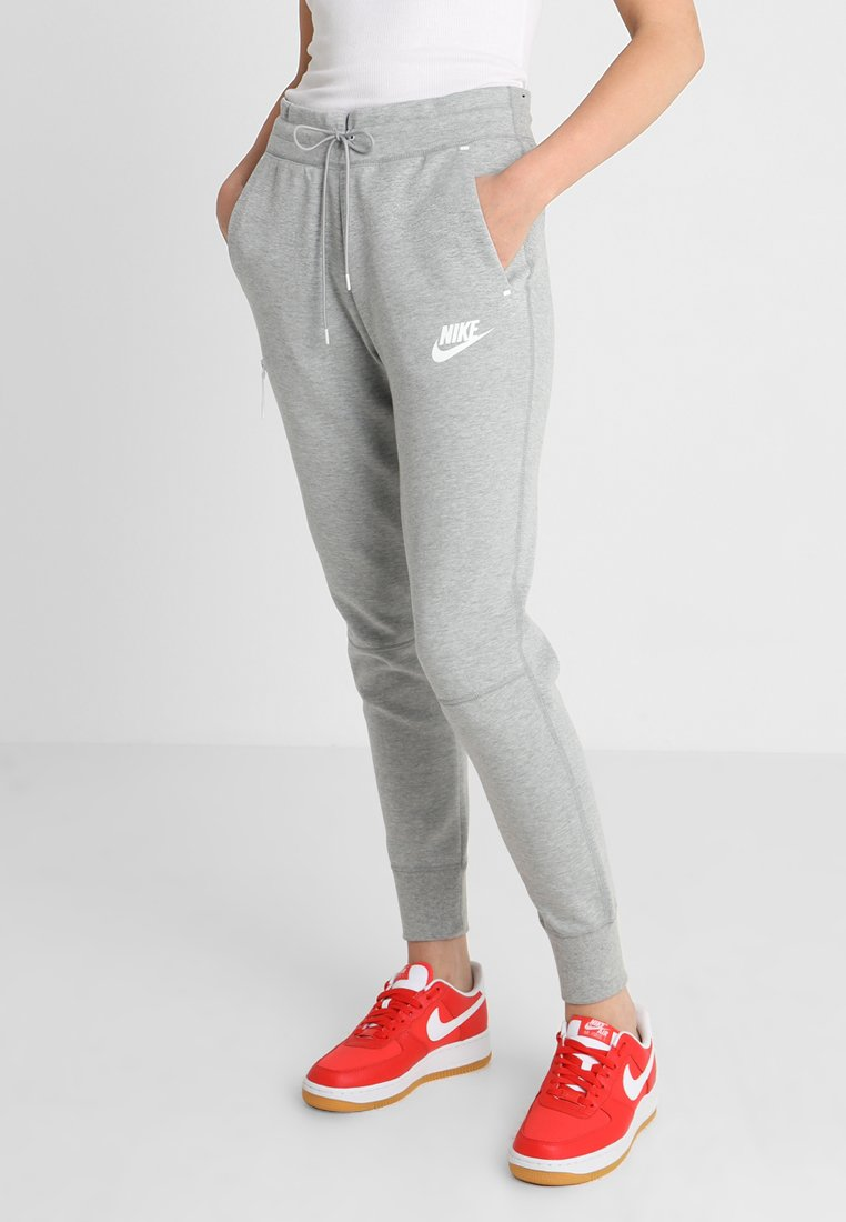 Nike Sportswear - Tracksuit bottoms -  grey heather/matte silver/white