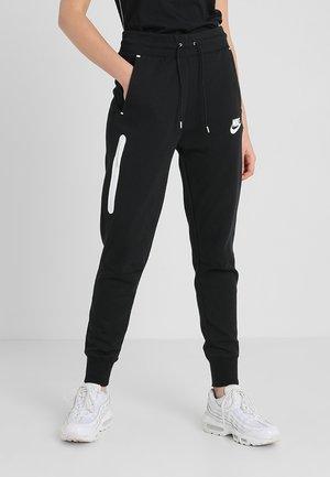 Jogginghose - black/black/white
