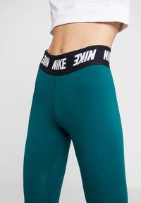 Nike Sportswear - CLUB  - Leggings - Trousers - midnight turq/white - 5