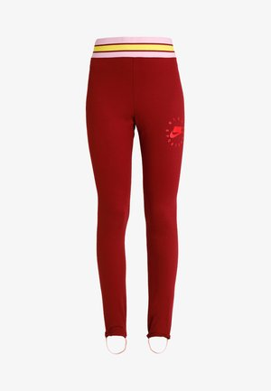 Legginsy - team red/university red