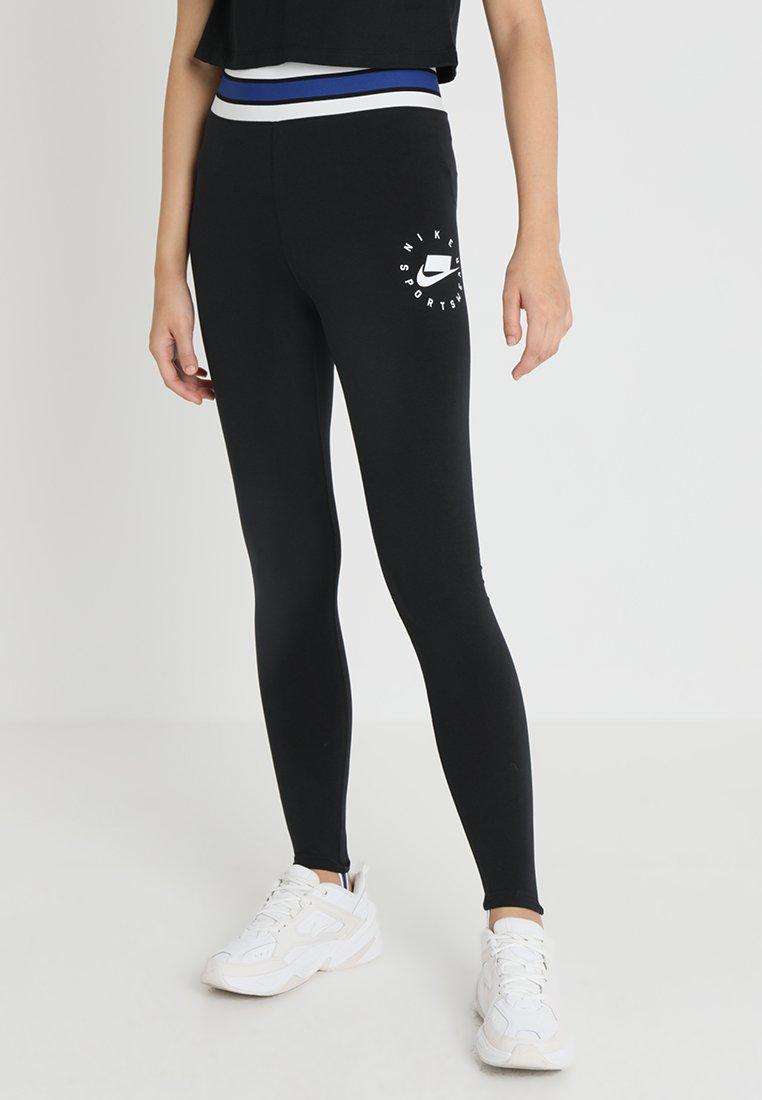 Nike Sportswear - Leggings - Hosen - black/summit white
