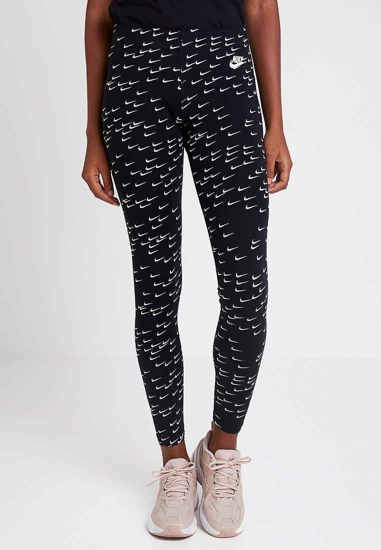Nike Sportswear - LEGASEE - Leggings - Hosen - black/white