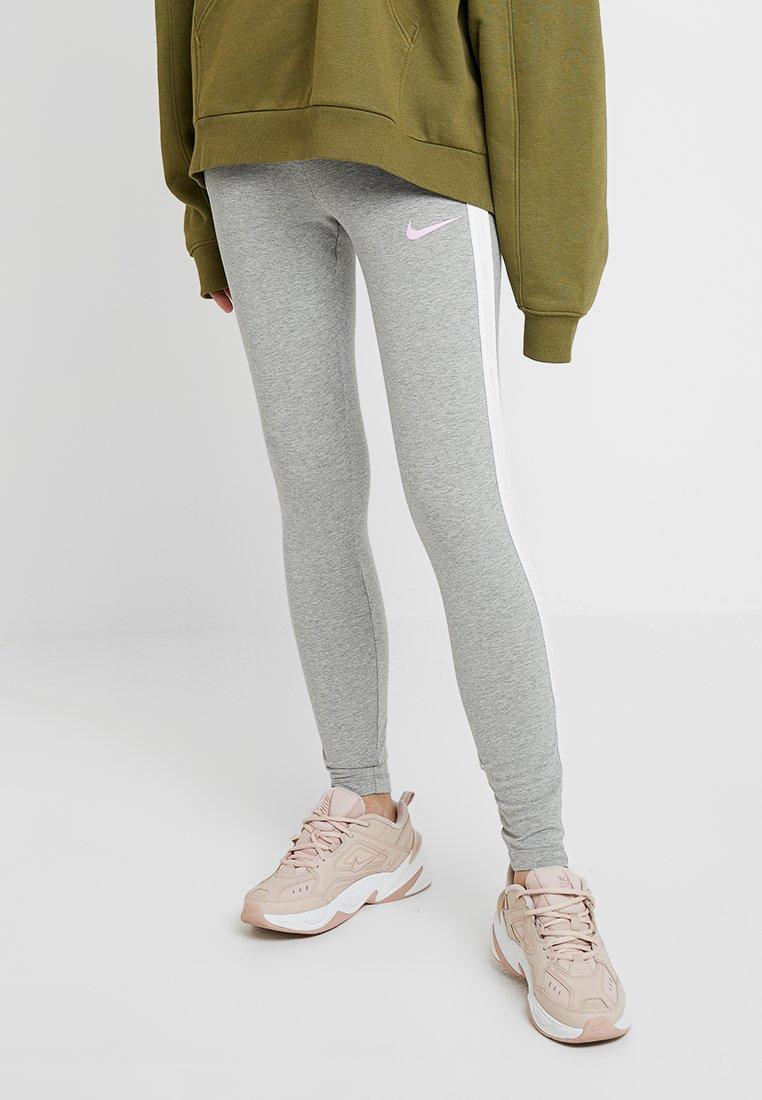 Nike Sportswear - Legging - grey heather/pink rise
