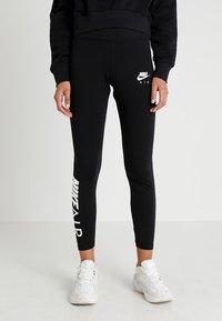Nike Sportswear - AIR - Leggings - Hosen - black/white - 0