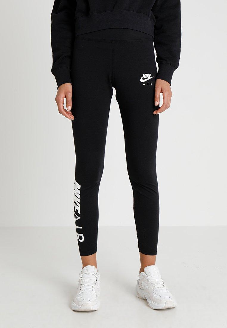 Nike Sportswear - AIR - Leggings - Hosen - black/white