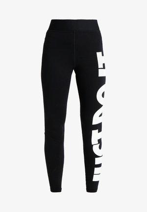 LEGASEE - Legginsy - black/white