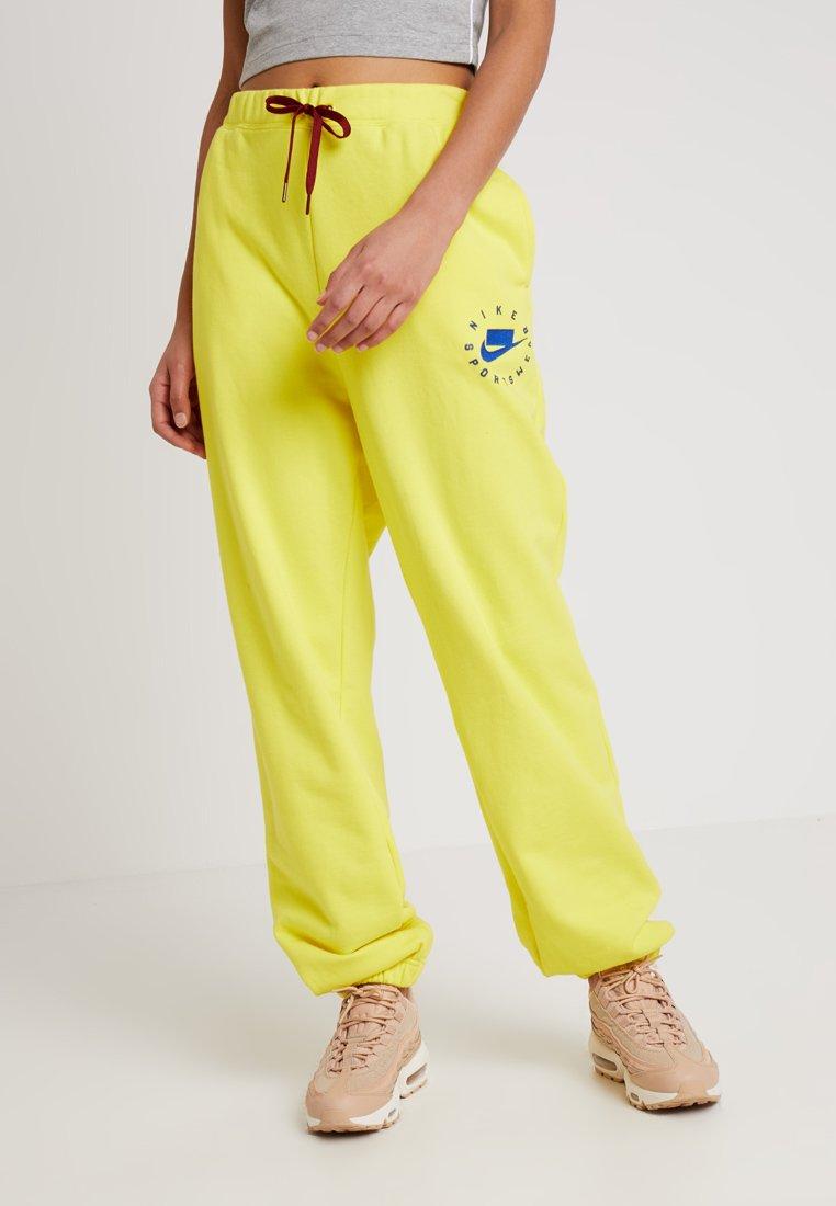 Nike Sportswear - PANT - Jogginghose - opti yellow/indigo force